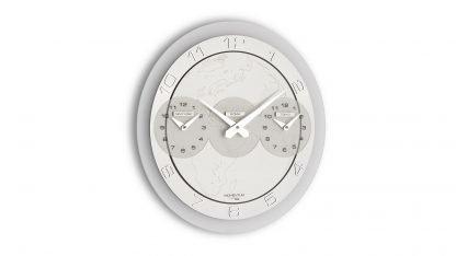 orologio da parete incantesimo design con le tre ore new york roma tokio