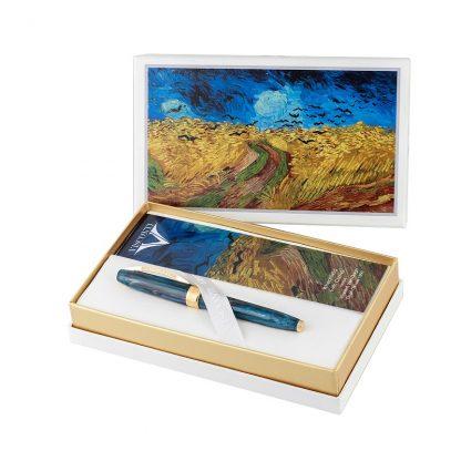 Roller Visconti Van Gogh crows edizione millesimata 3500 pz tra stilo roller sfera