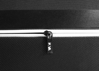 zaino nava aero organizzato con 3 scomparti tasca di sicurezza rfid colore nero zip anteriore