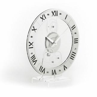 orologio da appogio incantesimo design in metacrilato ad altissima densità e purezza