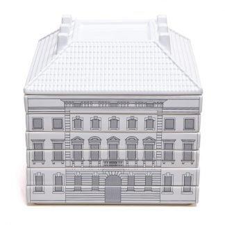 seletti set da 6 piatti piani serie palazzi palazzo della signoria