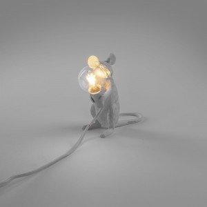lampada seletti mouse lamp seduto acceso