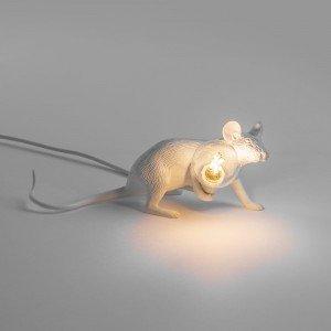lampada seletti mouse lamp sdraiato acceso
