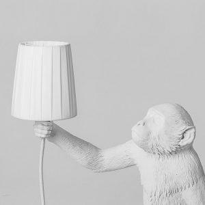 lampada seletti serie mokey lamp con paralume