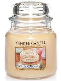 giara piccola yankee candle fragranza vanilla cupcake