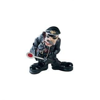 statuetta antartidee il carabiniere in resina decorata a mano