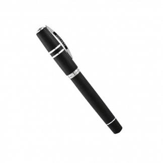 roller homo sapiens steel visconti colore nero con finiture acciaio