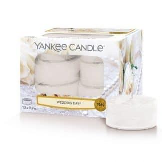tea light yankee candle fragranza Wedding Day