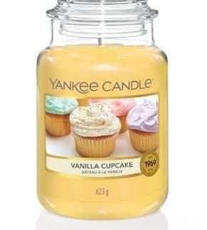 Giara grande Yankee Candle Fragranza Vanilla Cupcake