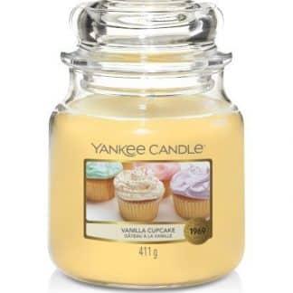 Giara media yankee candle Vanilla Cupcake