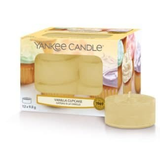 Tea light Yankee Candle fragranza Vanilla Cupcake