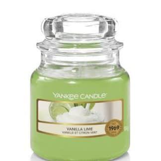 Giara piccola Yankee Candle fragranza Vanilla Lime