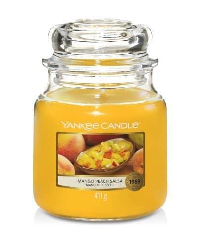 Giara media Yankee Candle fragranza Mango Peach Salsa