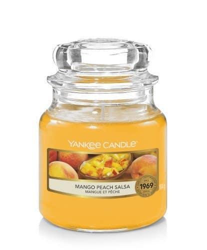 Giara piccola Yankee Candle fragranza Mango Peach Salsa