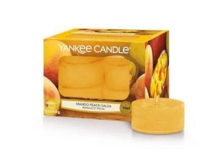 Tea light Yankee Candle fragranza Mango Peach Salsa