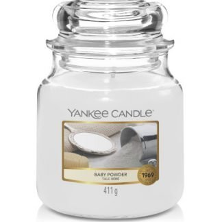 giara media yankee candle fragranza Baby Powder