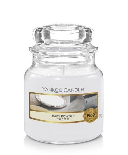 Giara piccola Yankee Candle fragranza Baby Powder