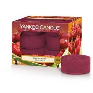 Tea Light Yankee Candle fragranza Black Cherry