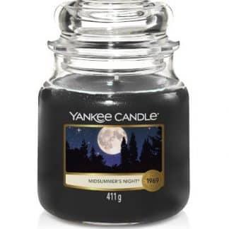 giara media yankee candle fragranza midsummer's night