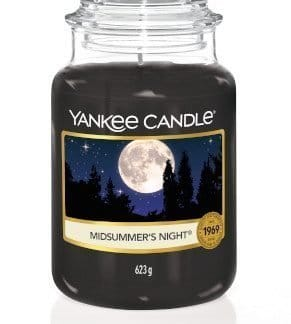 giara grande yankee candle fragranza midsummer's night