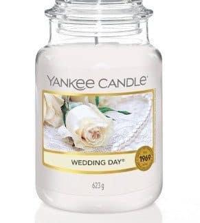 Giara grande Yankee Candle fragranza Wedding Day
