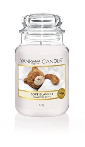 Giara grande Yankee Candle fragranza Soft Blanket