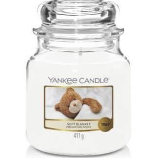 Giara media Yankee Candle fragranza Soft Blanket