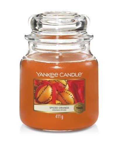 Giara media Yankee Candle fragranza Spiced Orange