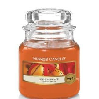 Giara piccola Yankee Candle Fragranza Spiced Orange