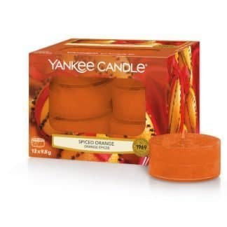 Tea light yankee candle fragranza spiced orange