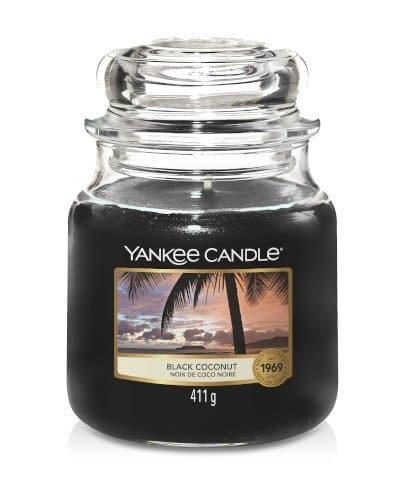 giara media yankee candle fragranza Black Coconut