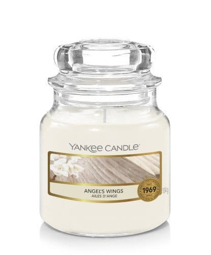 Giara piccola Yankee Candle fragranza Angel's Wings