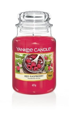Giara grande Yankee Candle fragranza Red Raspberry