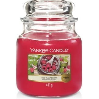 Giara media Yankee Candle fragranza Red Raspberry