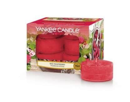 Tea light Yankee Candle fragranza Red Raspberry