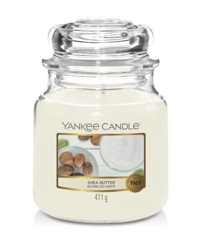 Giara media Yankee Candle fragranza Shea Butter