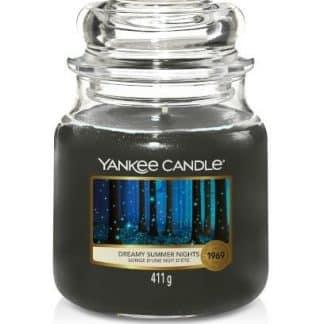 giara media yankee candle fragranza Dreamy Summer Nights