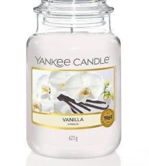 Giara grande Yankee Candle fragranza Vanilla