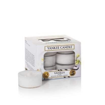 Tea light Yankee Candle fragranza Vanilla