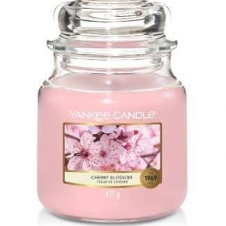 Giara media Yankee Candle fragranza Cherry Blossom