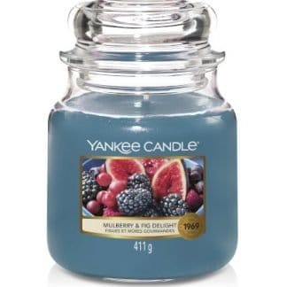 Giara media Yankee Candle fragranza Mulberry & Fig Delight