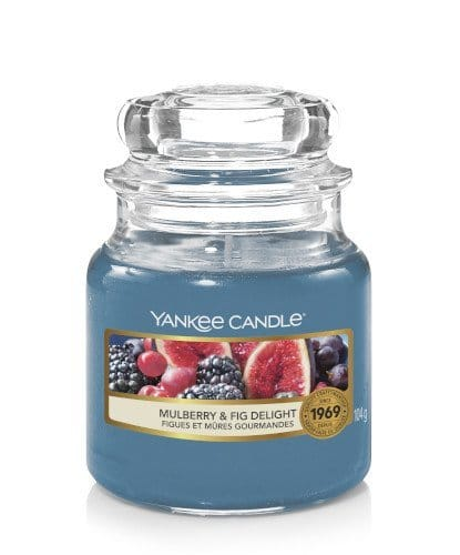 Giara piccola Yankee Candle fragranza Mulberry & Fig Delight
