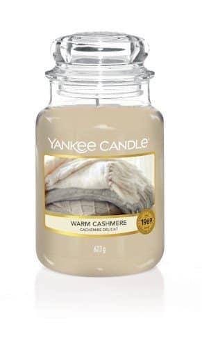 Giara grande Yankee Candle fragranza Warm Cashmere