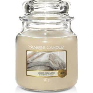 giara media Yankee Candle fragranza Warm Cashmere