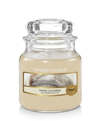 Giara piccola Yankee Candle Fragranza Warm Cashmere