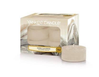 Tea light Yankee Candle Fragranza Warm Cashmere