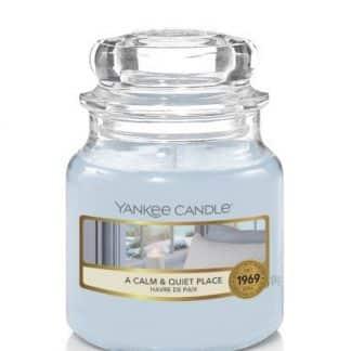 Giara piccola Yankee Candle fragranza A Calm & Quiet Place