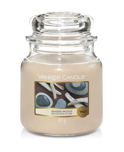 Giara media Yankee Candle fragranza Seaside Woods