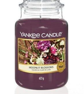 Giara grande Yankee Candle fragranza Moonlit Blossoms