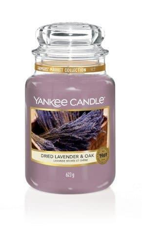 giara grande yankee candle fragranza Dried Lavender & Oak